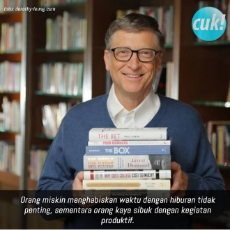 Menjadi Sukses Dengan Buku